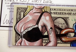 Image of Number 235. Early Real Dollar Original. Dirty Duck
