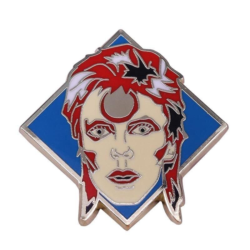 Ziggy Stardust Inspired Badge
