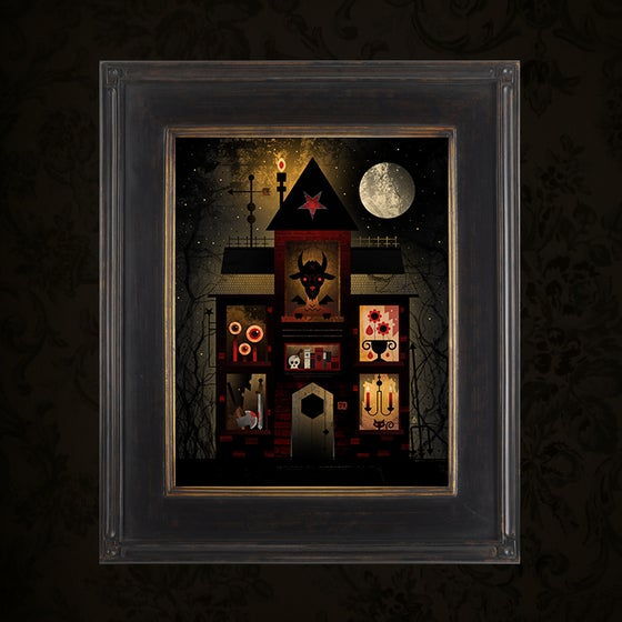 Image of The Haunt 8 (Framed Canvas)