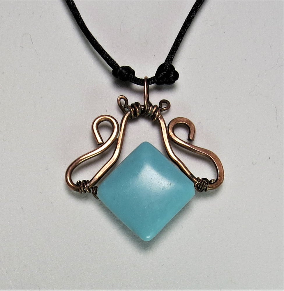 Image of Dainty Blue Necklace