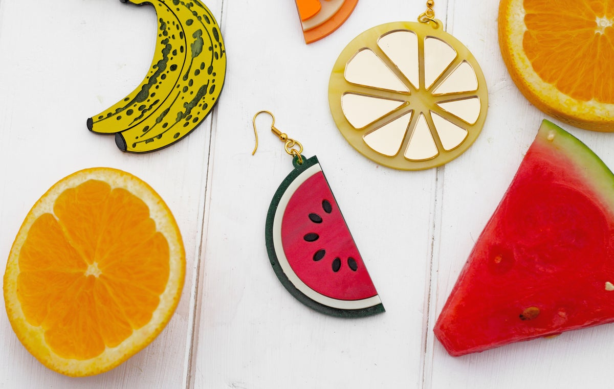 Image of Lemon Slice Earrings