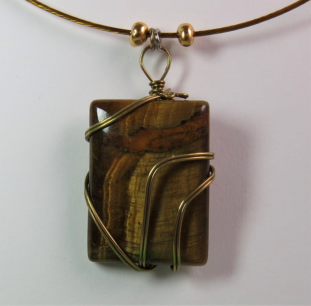 Image of Tiger Eye Dream Necklace