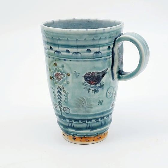 Image of Songbird Tall Tumbler Mug