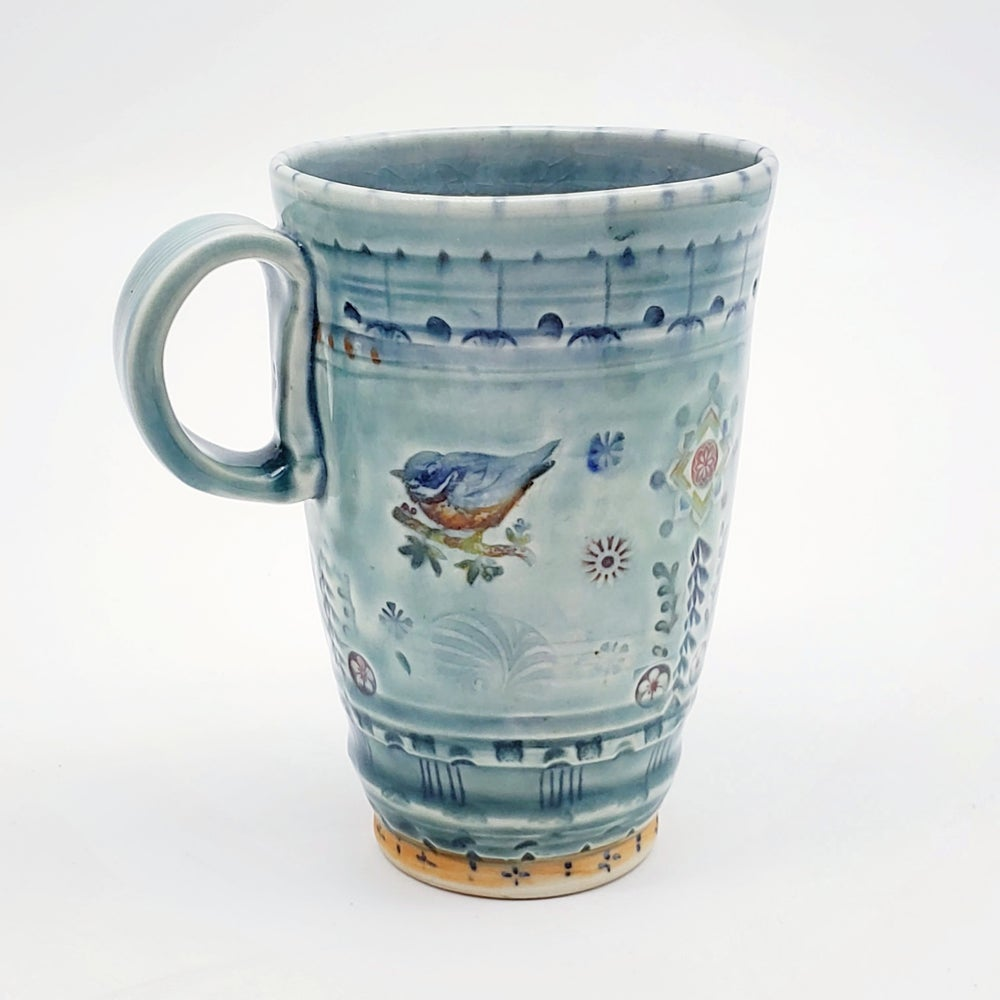 Image of Songbird Tall Tumbler Mug