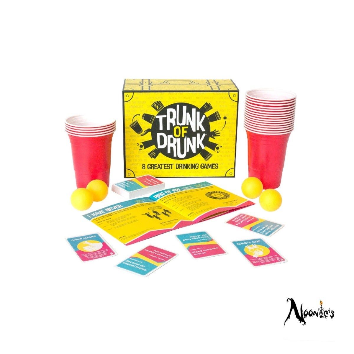 Image of The Ultimate drinking game set