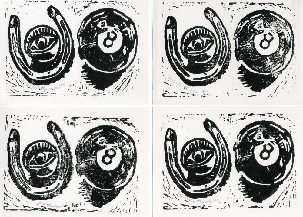 Lucky Lino Print