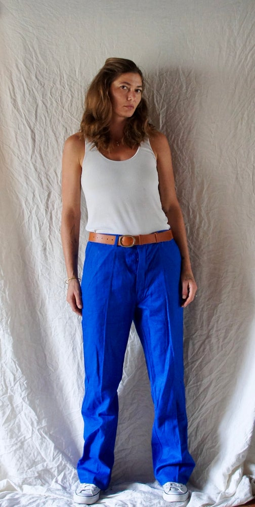 Image of French work wear pants