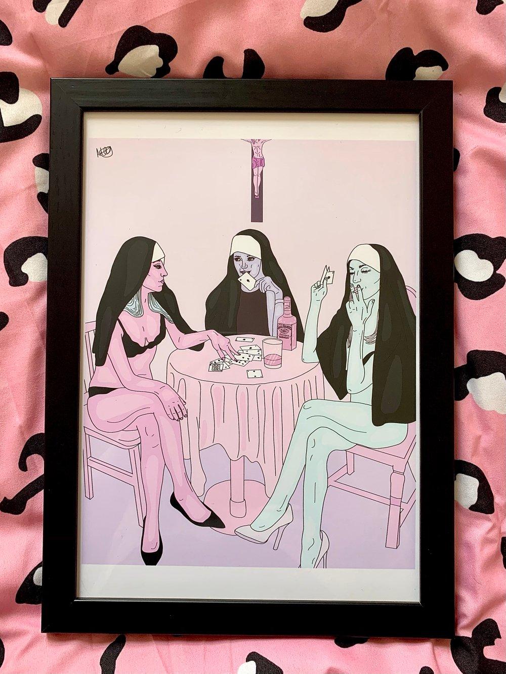 The Nunnery Print