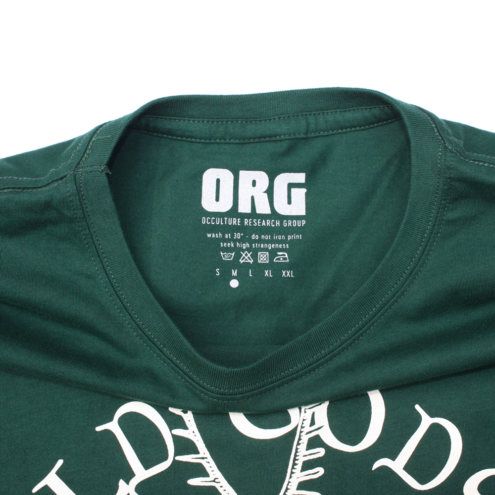 Image of OLD GODS T SHIRT - GREEN