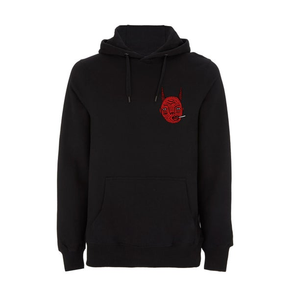 Image of PRE-ORDER - Black Devil Hoodie (2nd drop)