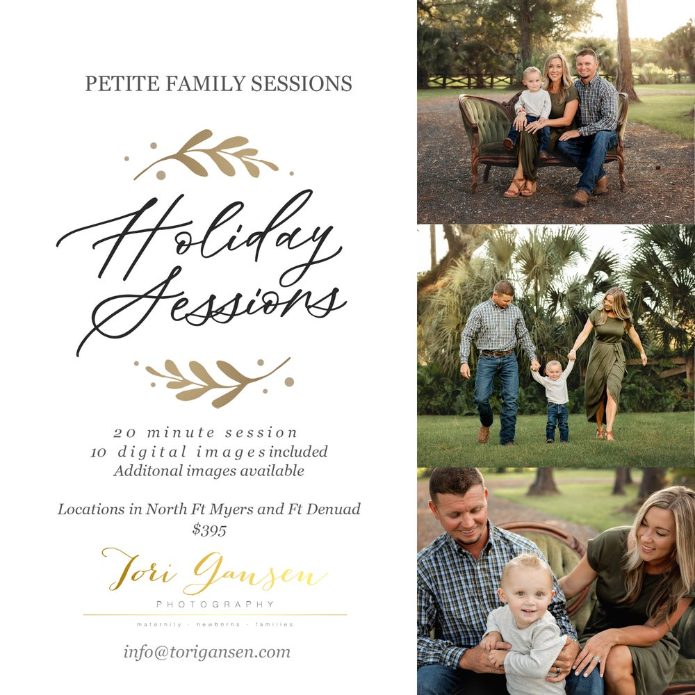 Image of 2020 Petite Family Sessions