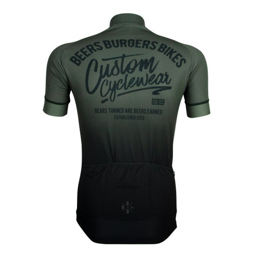 Image of Olive Grey Fade Jersey