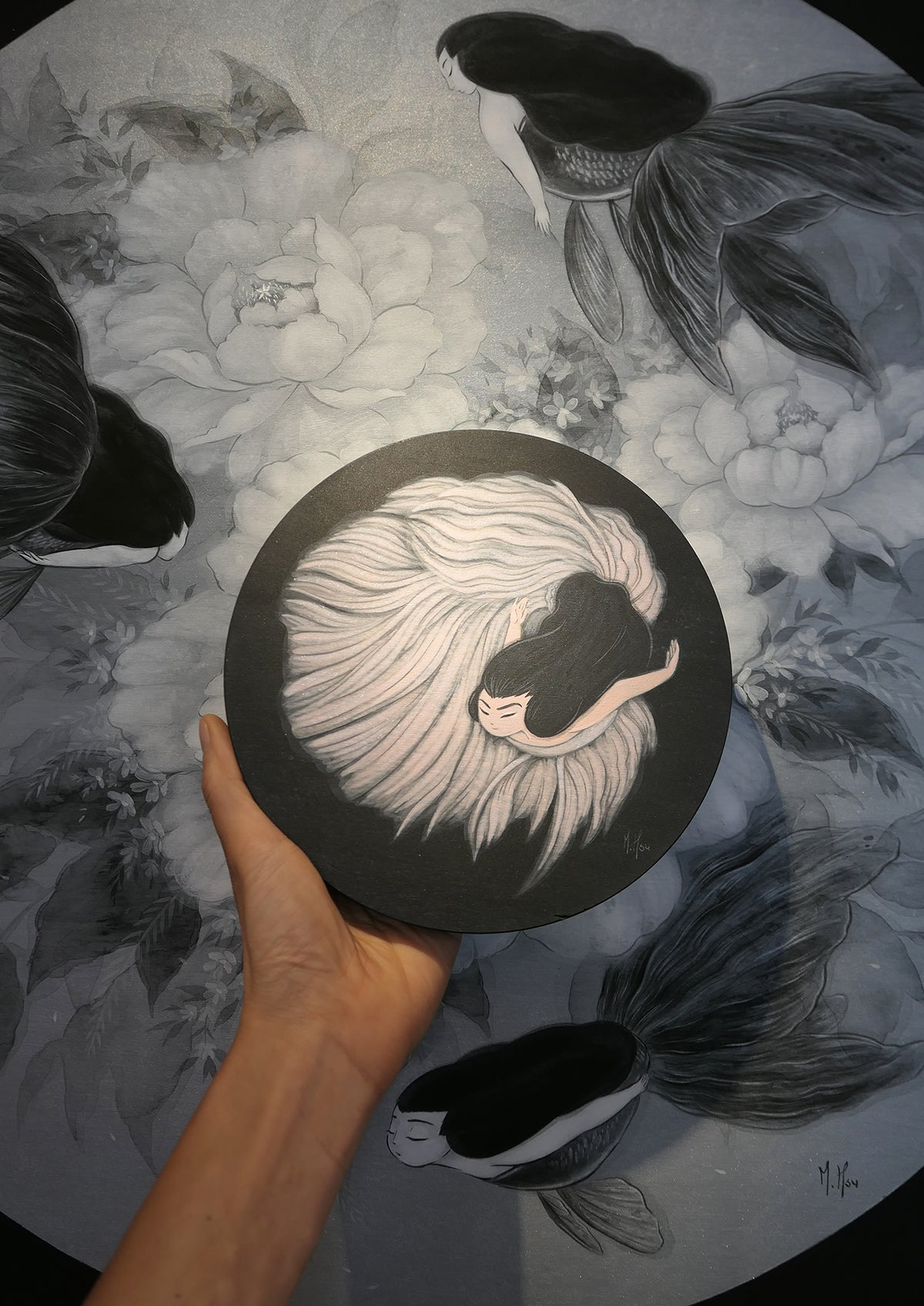 Siren- Luna, the Fighting Spirit Original Painting