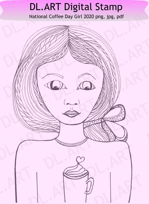Image of National Coffee Day Girl 2020