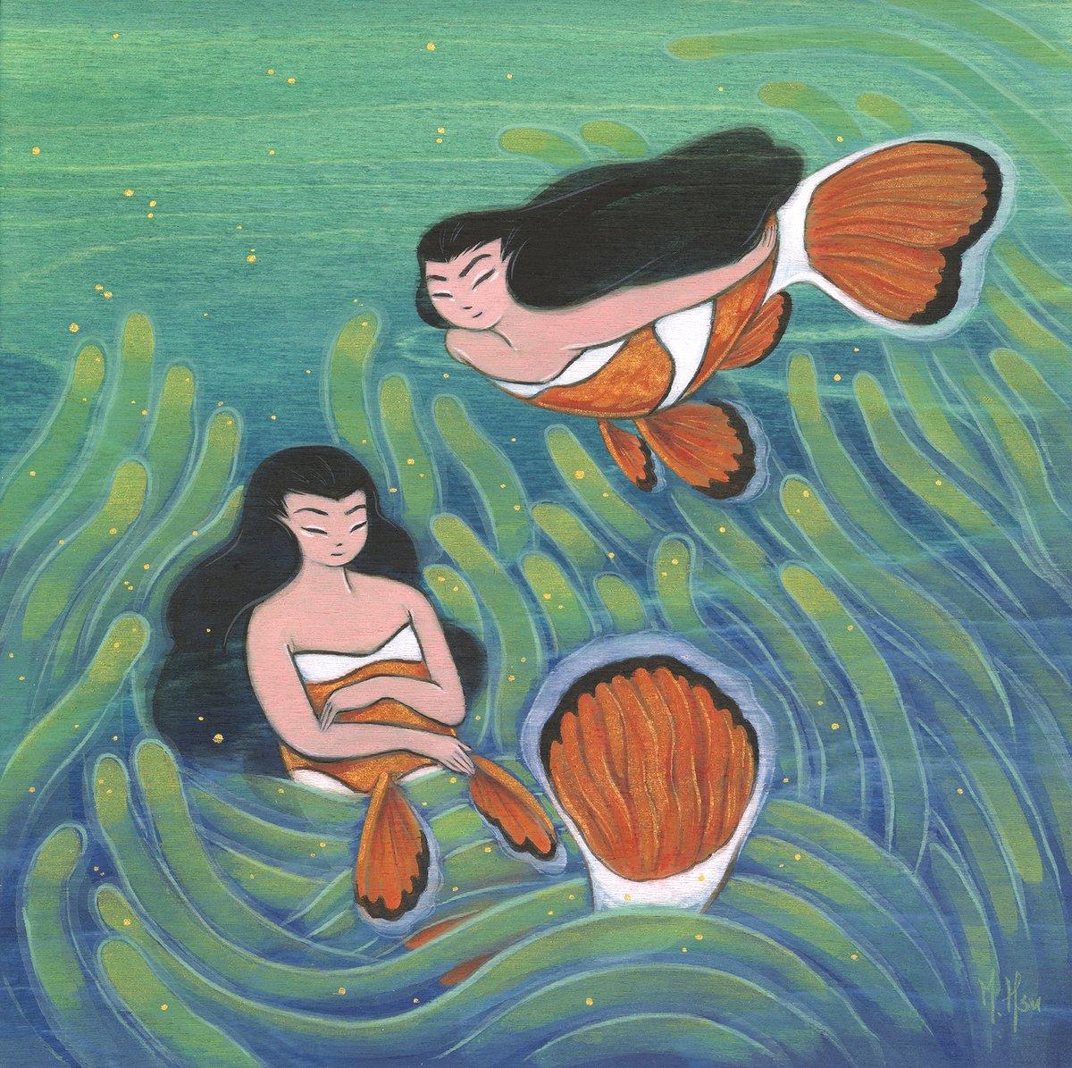 Sirens- Maternal Spirits Original Painting