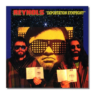 Image of REYNOLS 'Deportation Symphony' Orange Vinyl 7""