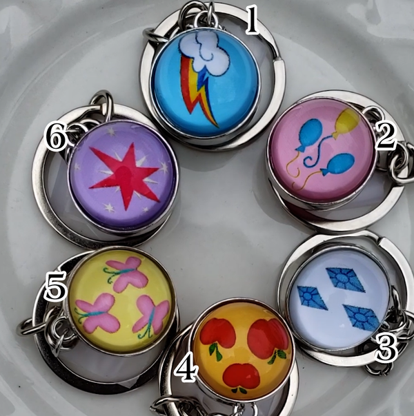 Image of Cutie Mark Key-Chain