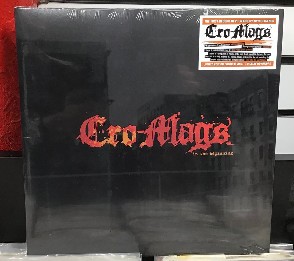 Image of Cro-Mags-In The Beginning LP (Limited Edition Yellow Vinyl))
