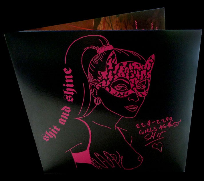 SHIT AND SHINE '229-2299 Girls Against Shit' 2xLP