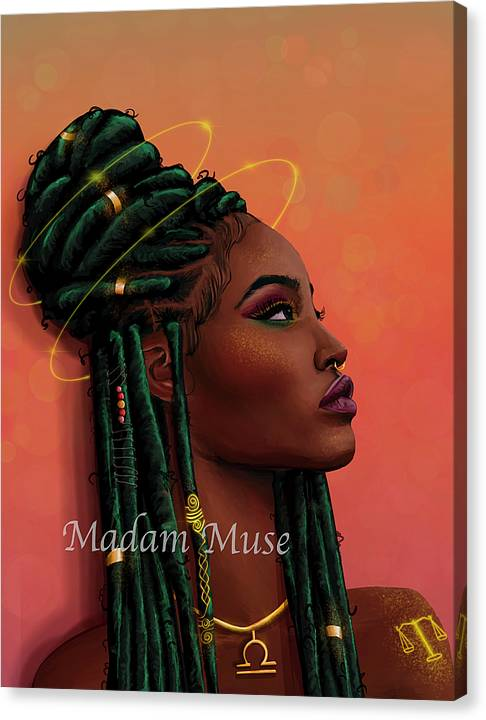 """Image of """"Queen Libra"""" Limited Edition Canvas Prints"""