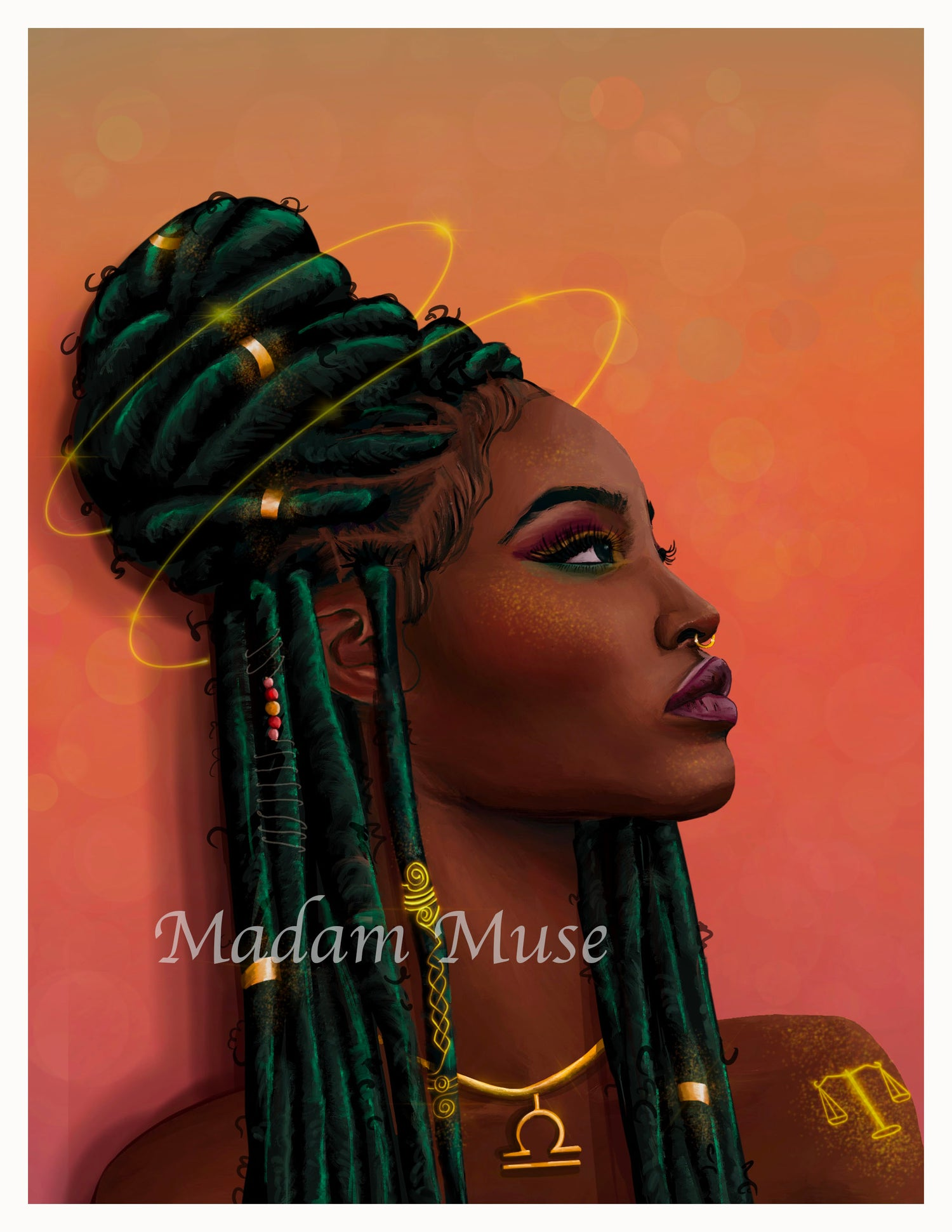 """Image of """"Queen Libra"""" Limited Edition Prints"""