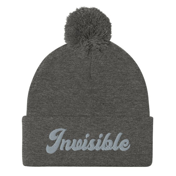 Image of INVISIBLE BEANIE - HEATHER GRAY