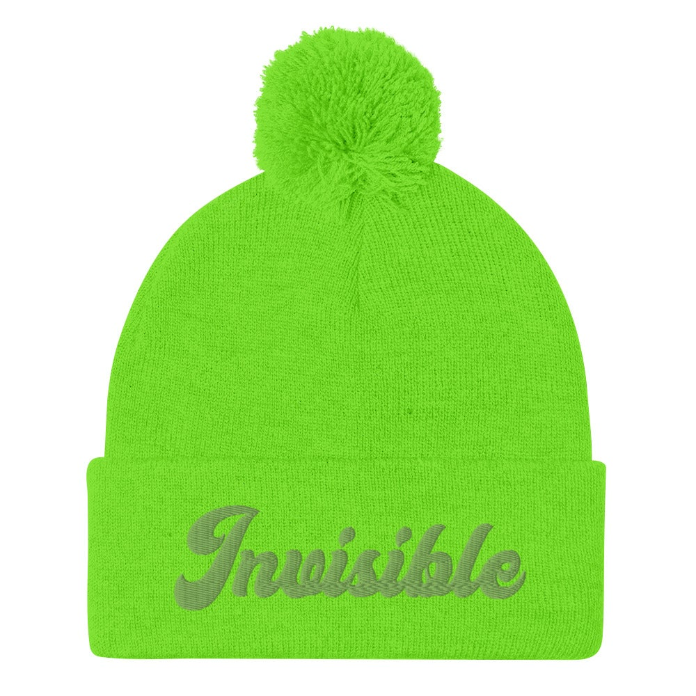 Image of INIVISIBLE BEANIE - NEON GREEN