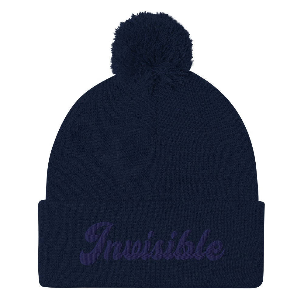 Image of INVISIBLE BEANIE - NAVY BLUE