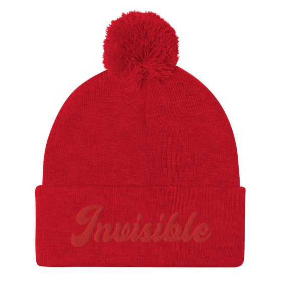 Image of INIVISIBLE BEANIE - RED