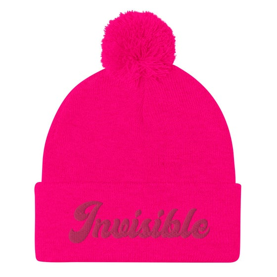 Image of INVISIBLE BEANIE - NEON PINK