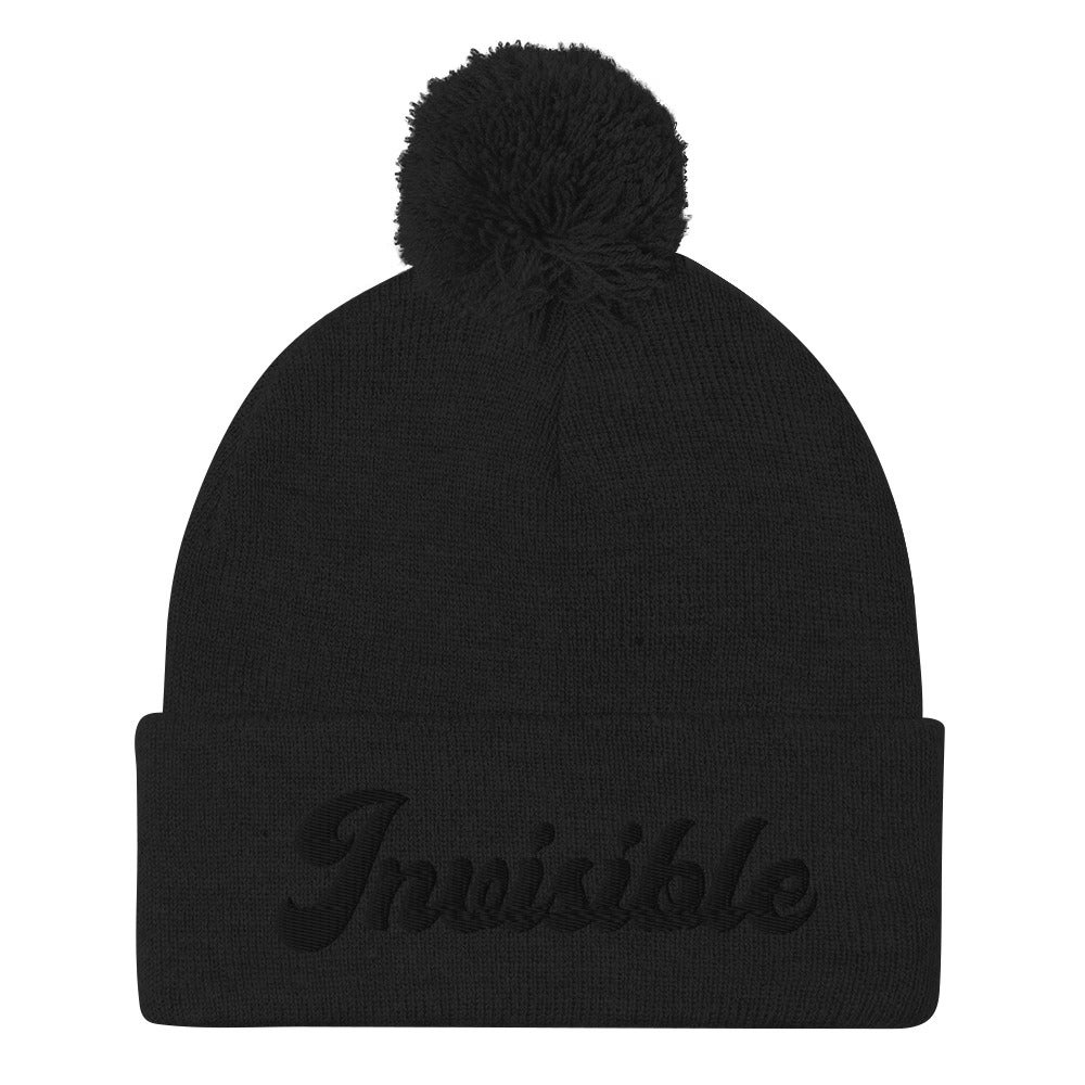 Image of INVISIBLE BEANIE - BLACK