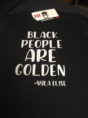 "Image of ""BLACK PEOPLE"" (T-SHIRT) GREY"