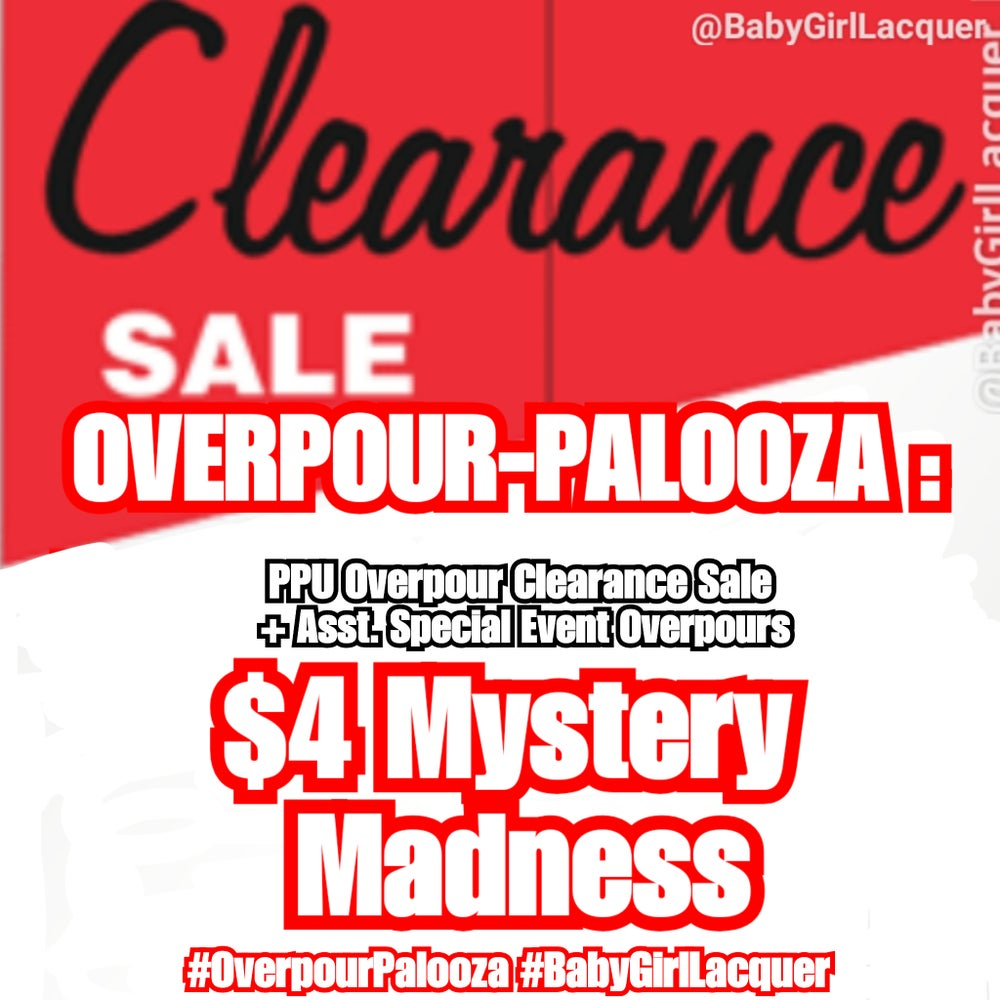 Image of  Overpour-Palooza: Mystery Madness
