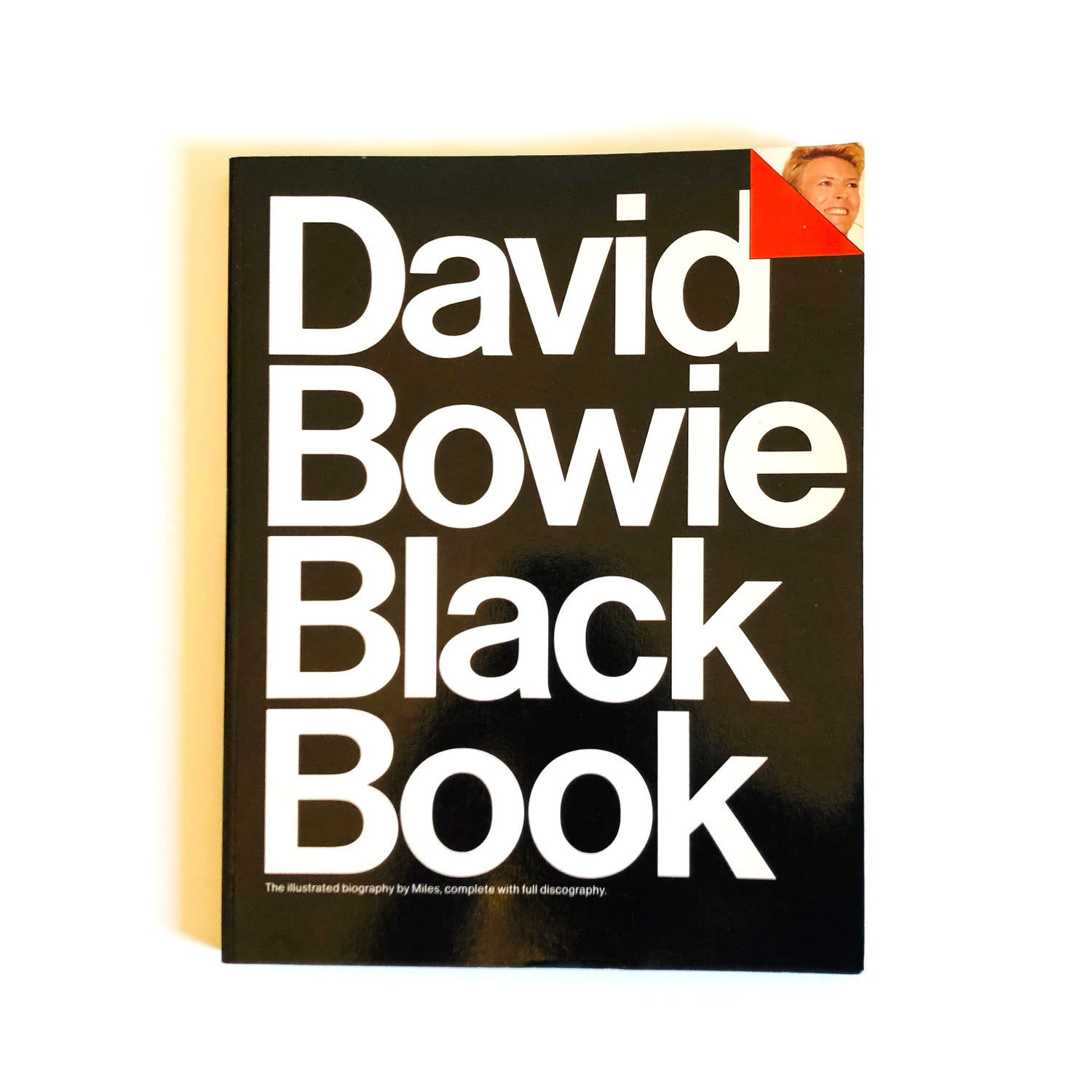 Image of David Bowie Black Book by Barry Miles