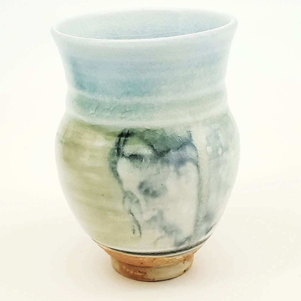 Image of Woodfired  Serenity Portrait Vase