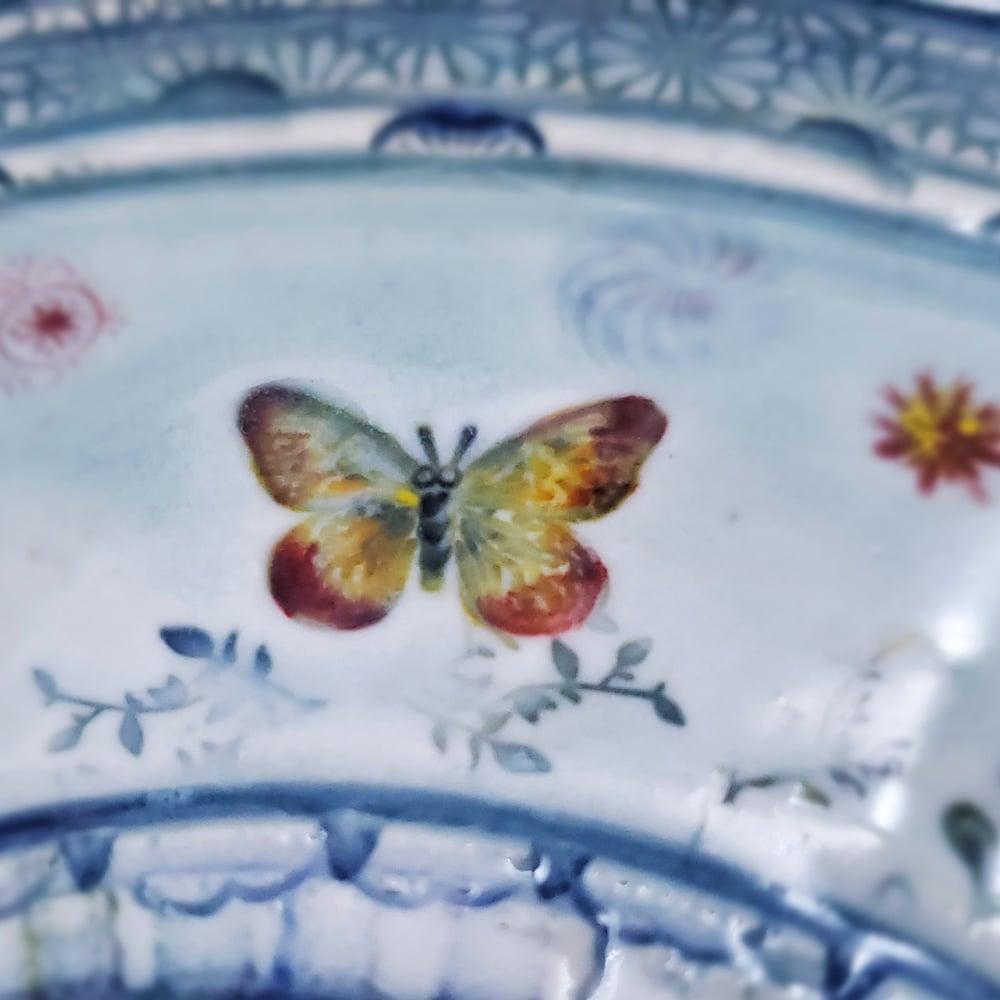 Image of Small Garden Porcelain Platter