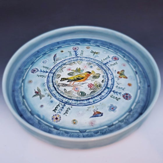 Image of Small Garden Porcelain Platter