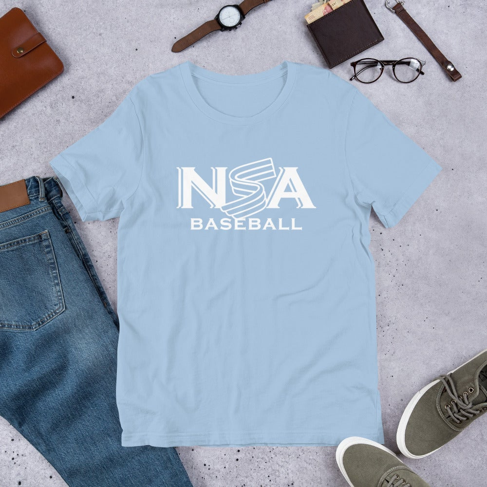 NSA Primary Logo Short-Sleeve Unisex T-Shirt