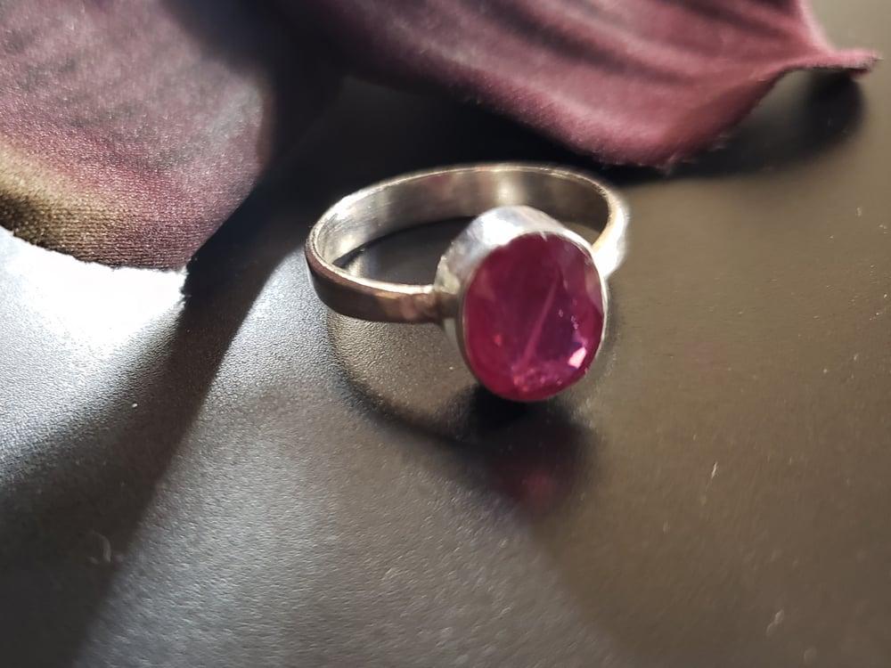8 Ruby Ring