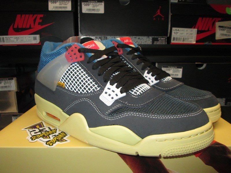"Image of Air Jordan IV (4) Retro SP x Union ""Off Noir"""