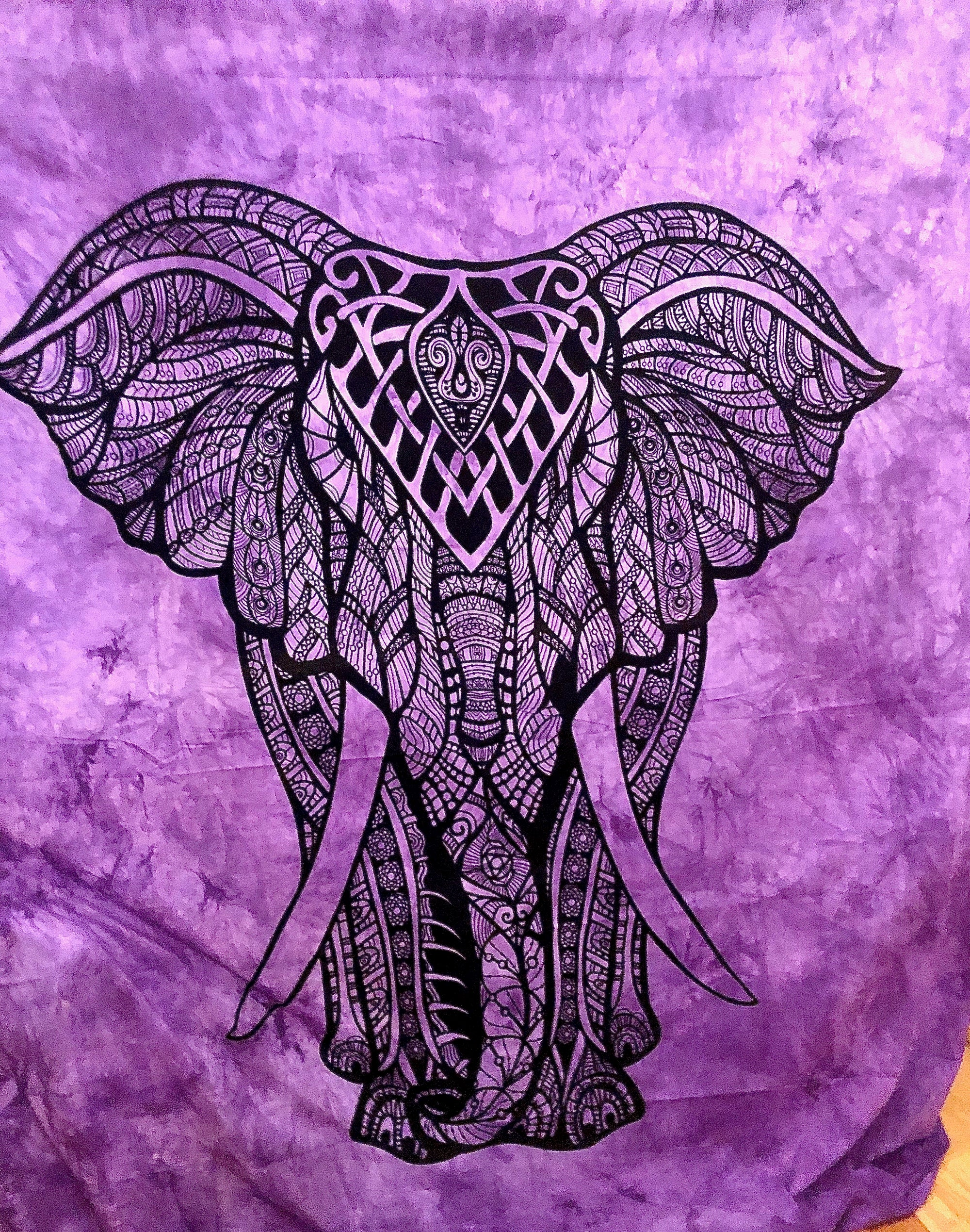 Image of Elephant Wall Tapestry