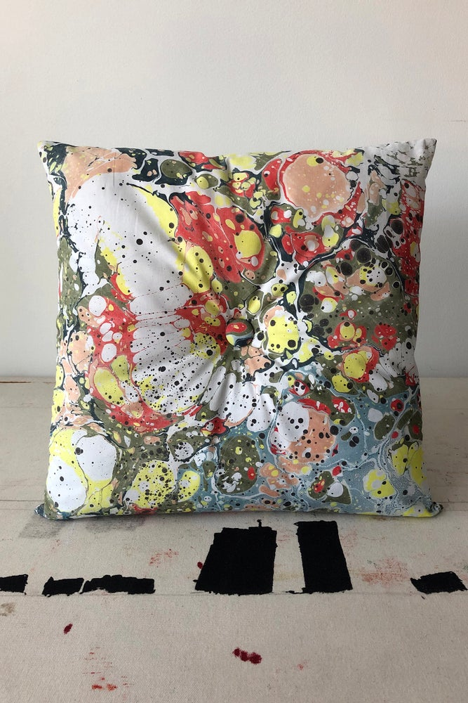 Image of Button Pillow - Sgt. Pepper