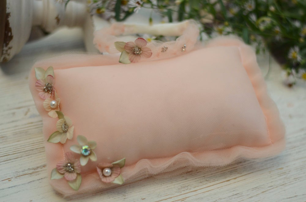 Image of Couture pillow set ( peach color)