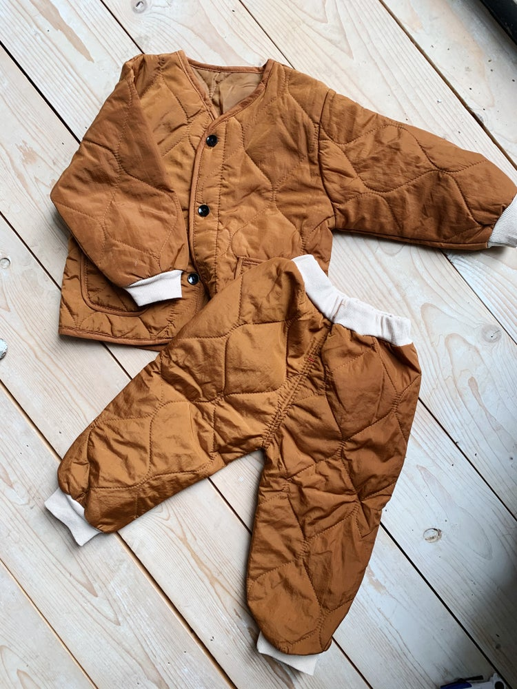 Image of THE MO TRACKSUIT - CARAMEL