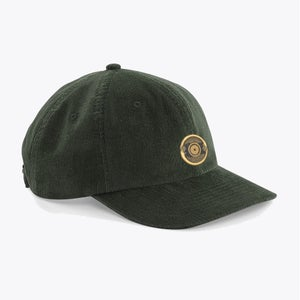 Corduroy Cap: Green