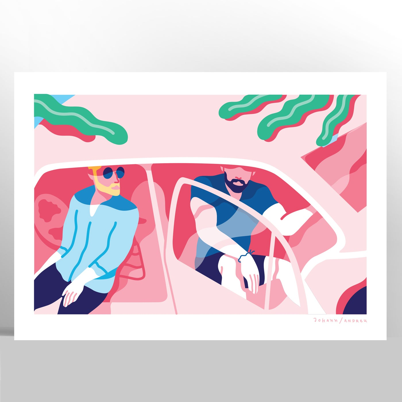 Two in a Car - Summer Collection