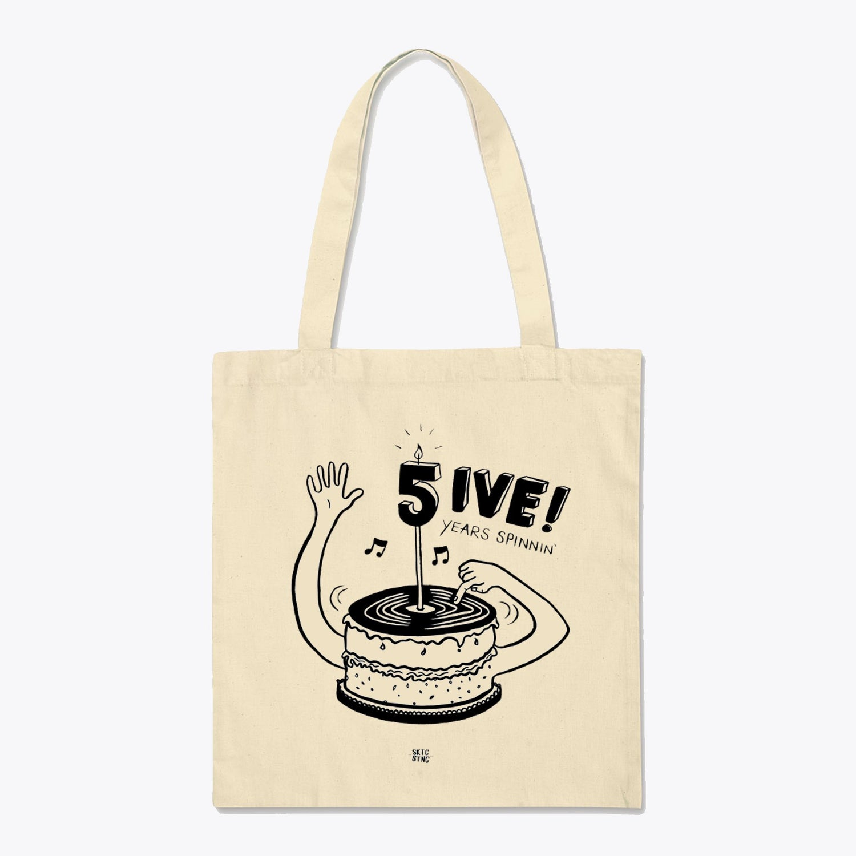 Tote Bag: Cream