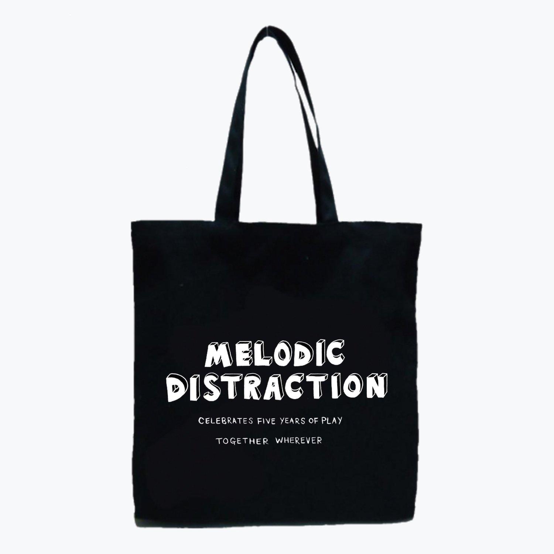 Tote Bag: Black