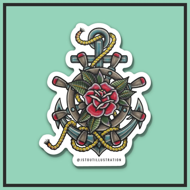 """Image of """"GUIDE ME FOREVER"""" STICKER"""