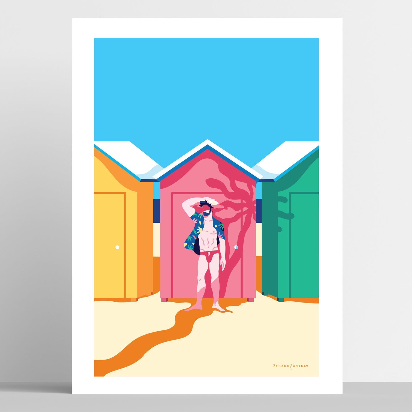 Beach Huts - Summer Collection